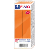 FIMO Soft Orange Polymer Ler 454g 8021-42