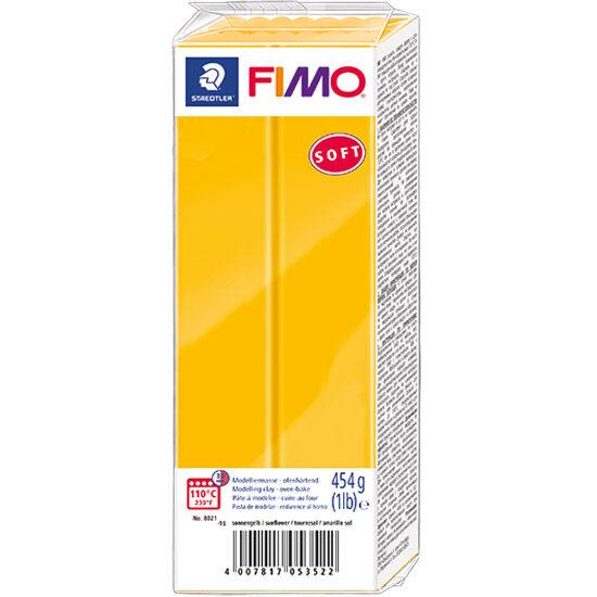 FIMO Soft Solsikke Gul Polymer Ler 454g 8021-16