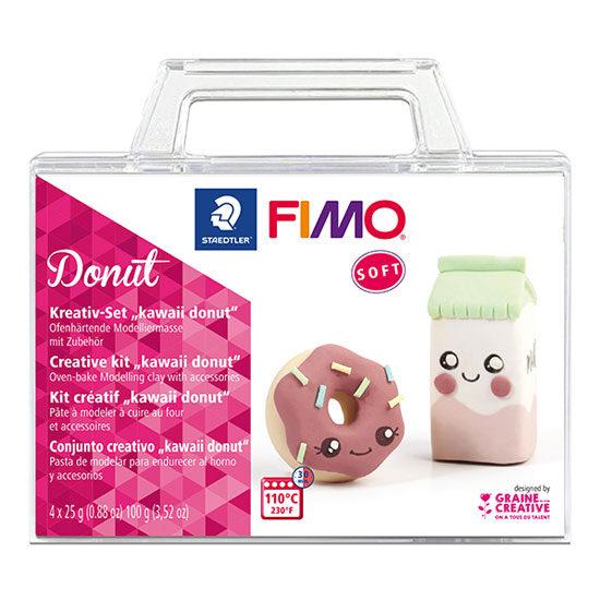 Fimo Soft Donut - Creative kit Donut 8025-34 - Fimo Sæt