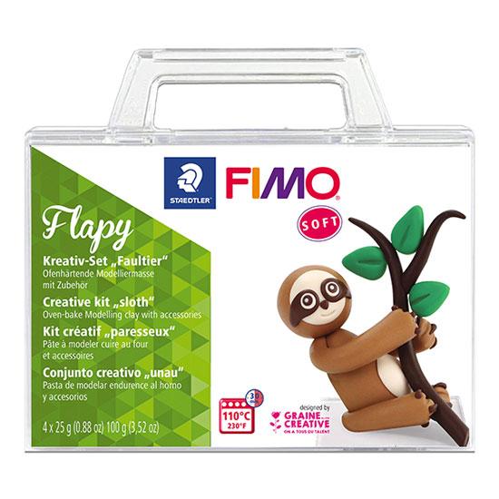 Fimo Soft Flapy - Creative Kit Sloth 8025-32 - Fimo Sæt