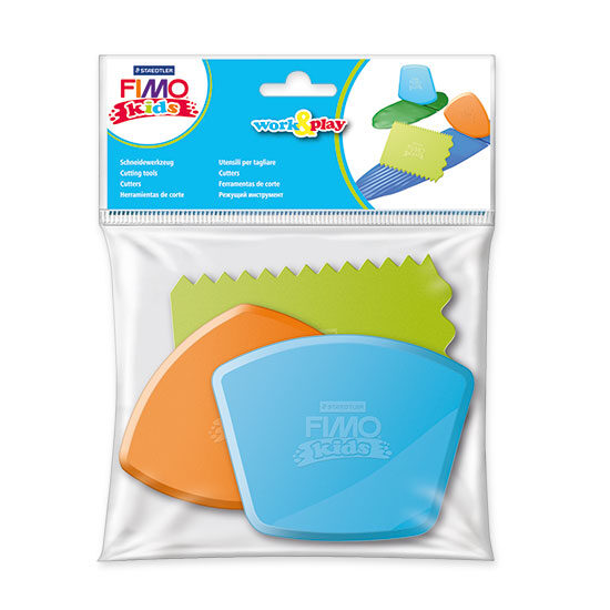 FIMO kids Work And Play Cutting tools 8700-34