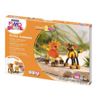Fimo Kids Crazy Animals 8033-07 - Lion and Tiger
