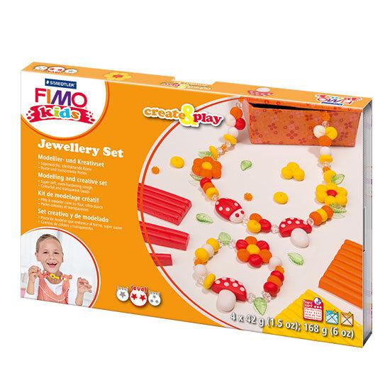 Fimo Kids Create and Play Jewellery Set 8033-02