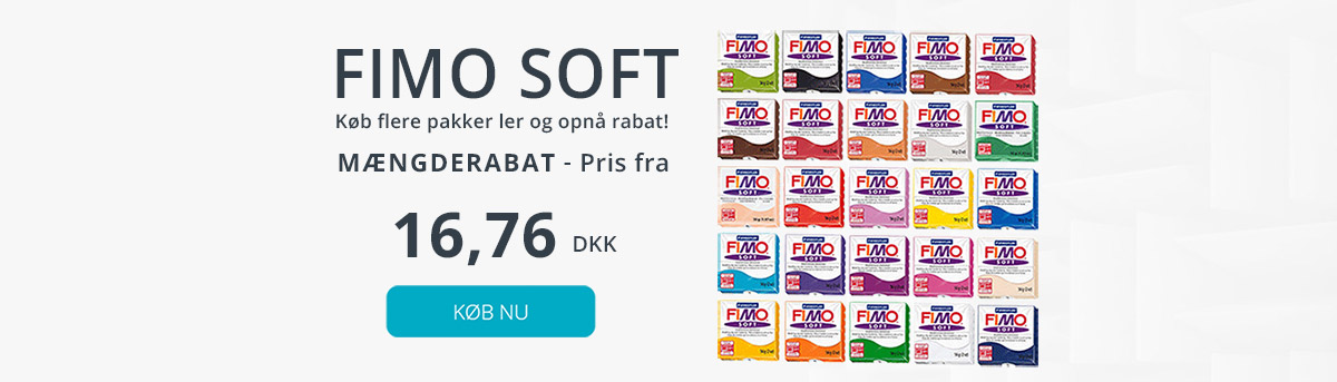 Billig fimo soft ler