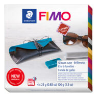 Fimo Leather Glasses Case 8015 DIY4 - Brilleetui