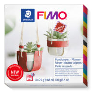 Fimo Leather Plant Hangers 8015 DIY3 - Plantebøjler