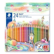 Staedtler Noris Club 127 NC24 - 24 trekantede farveblyanter