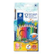 Staedtler Noris Club 144 10NC12 - 12 Akvarel Farveblyanter