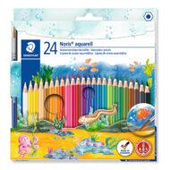 Staedtler Noris Club 144 10NC24 - 24 Akvarel Farveblyanter
