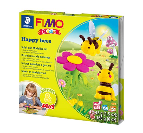 FIMO Kids Happy Bees Form and Play 8034-27