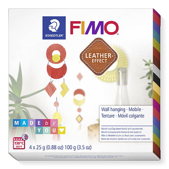Fimo Leather Wall Hanging 8015 DIY6