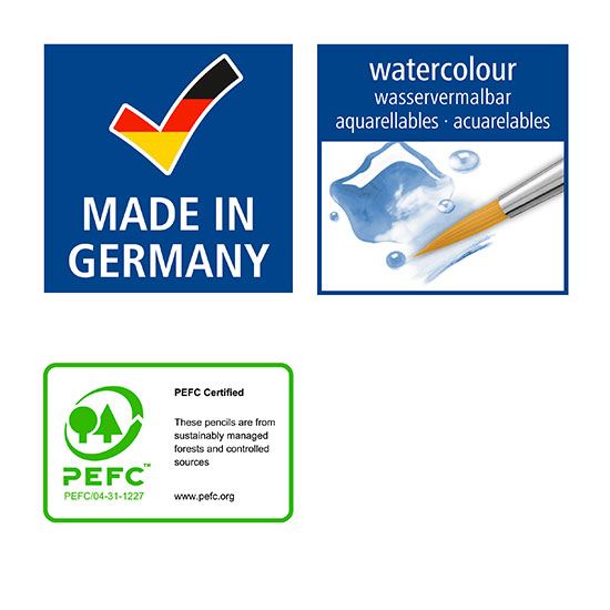 staedtler watercolour made in germany